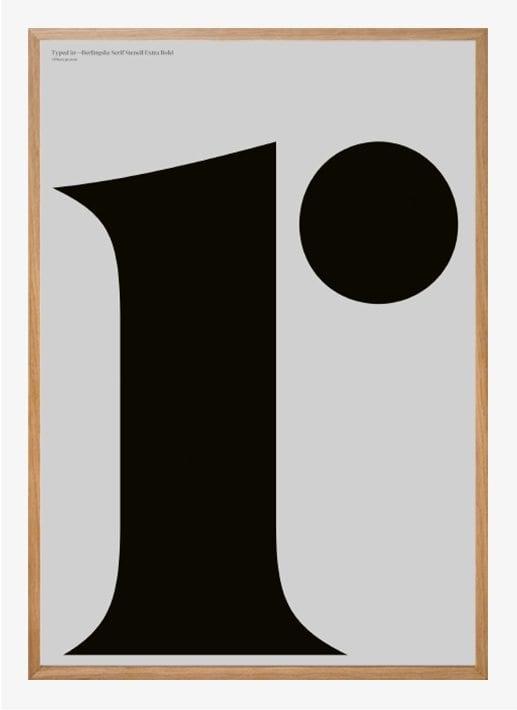 Playtype poster - Berlingske r