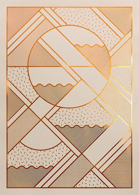 Kristina Krogh - Levels, beige and copper