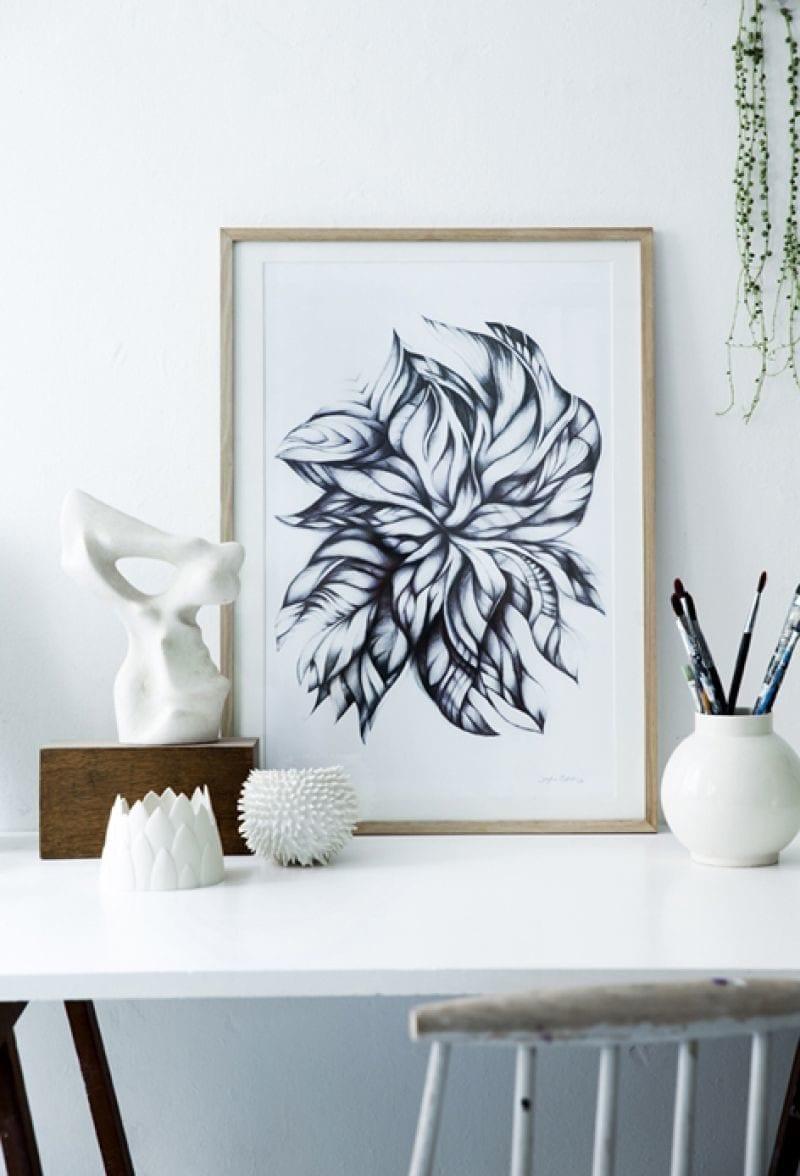 Sofie Børsting - Swirling leaves