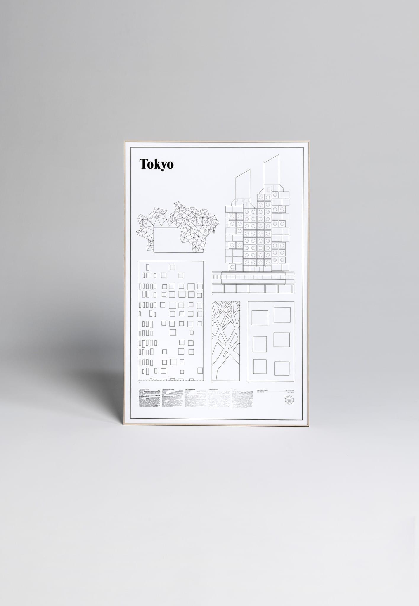 Studio Esinam, Tokyo Elevations - THE POSTER CLUB