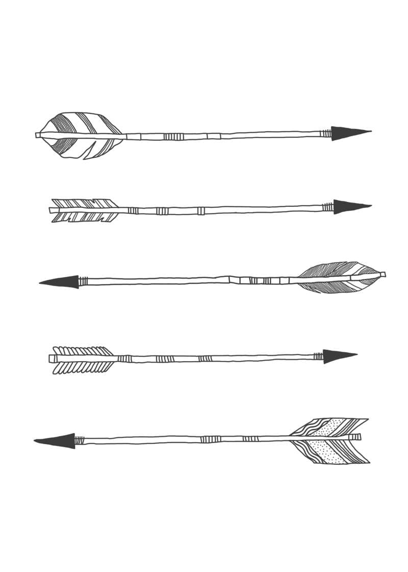 Classroom Design Arrow Or X ~ Wiho design arrows the poster club