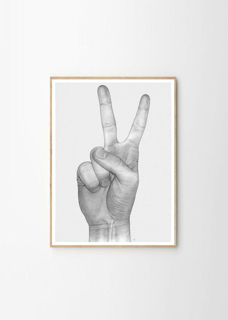 Paper Collective x Børge Bredenbekk - V hands