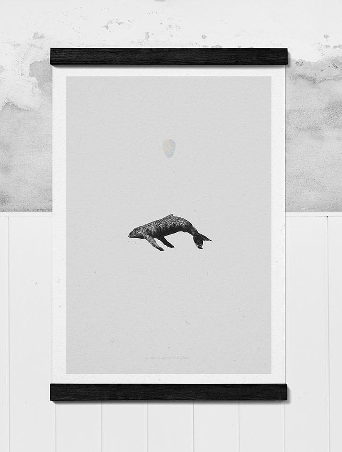 Paper Collective, Whale Reprise - THE POSTER CLUB