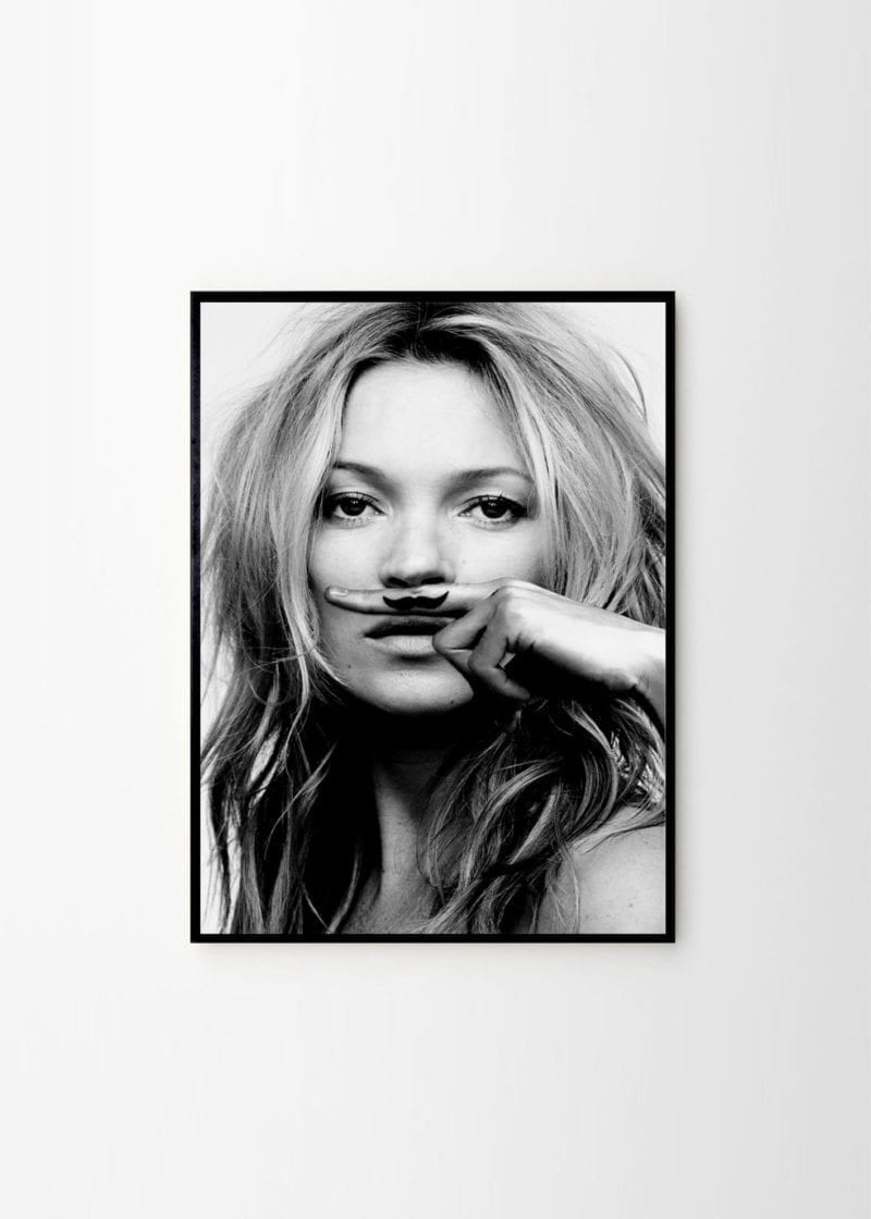 Lijst in - Kate Moss, Life is a joke
