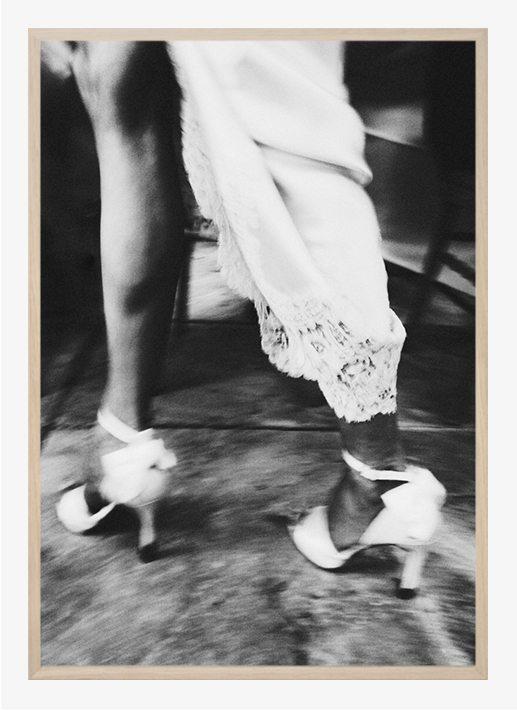 Chieska Smith - White shoes