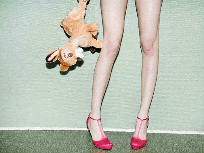 Paper Collective x Julie Pike - Bambi and heels