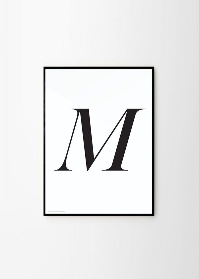 Playtype - M poster