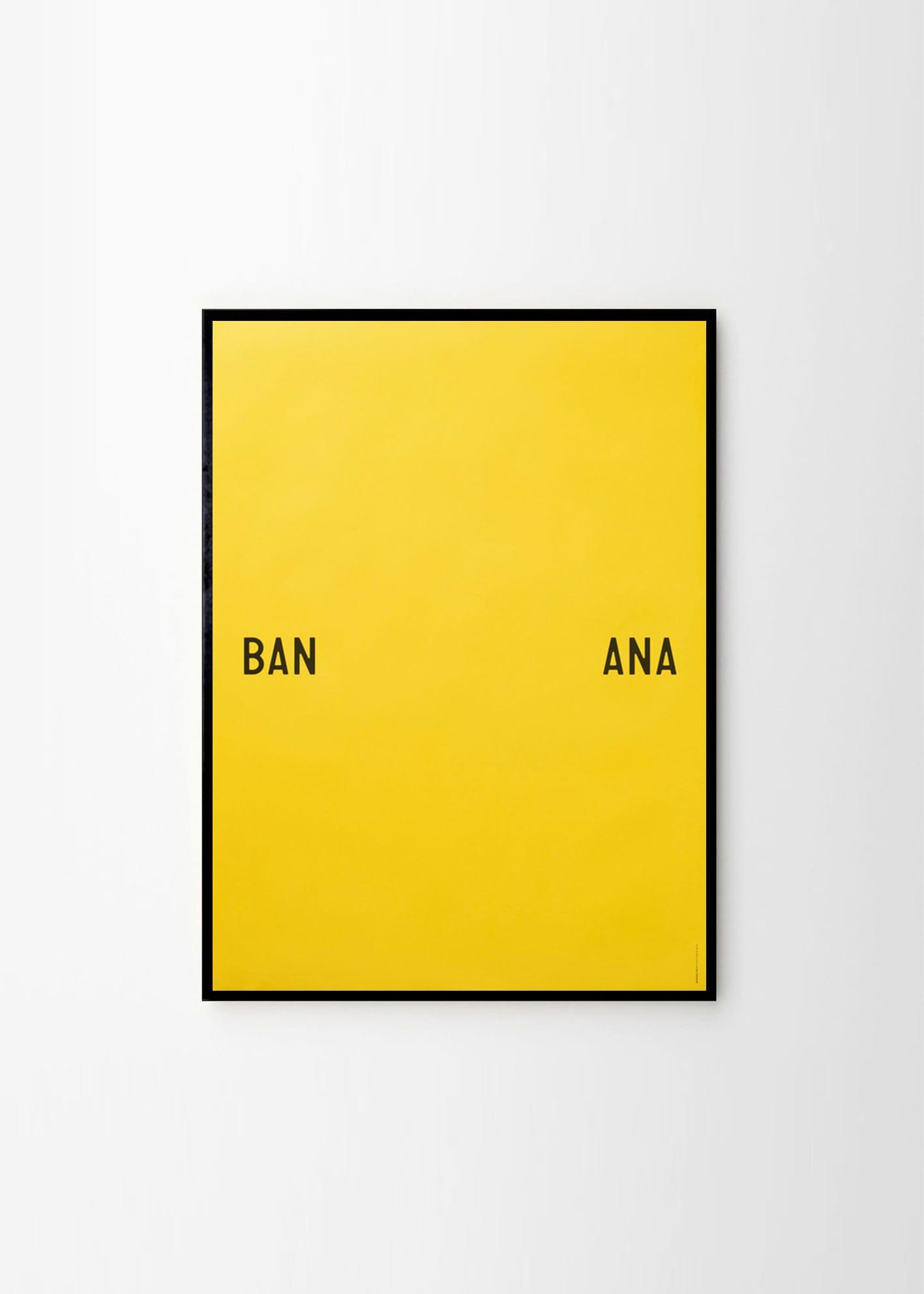 playtype banana split the poster club