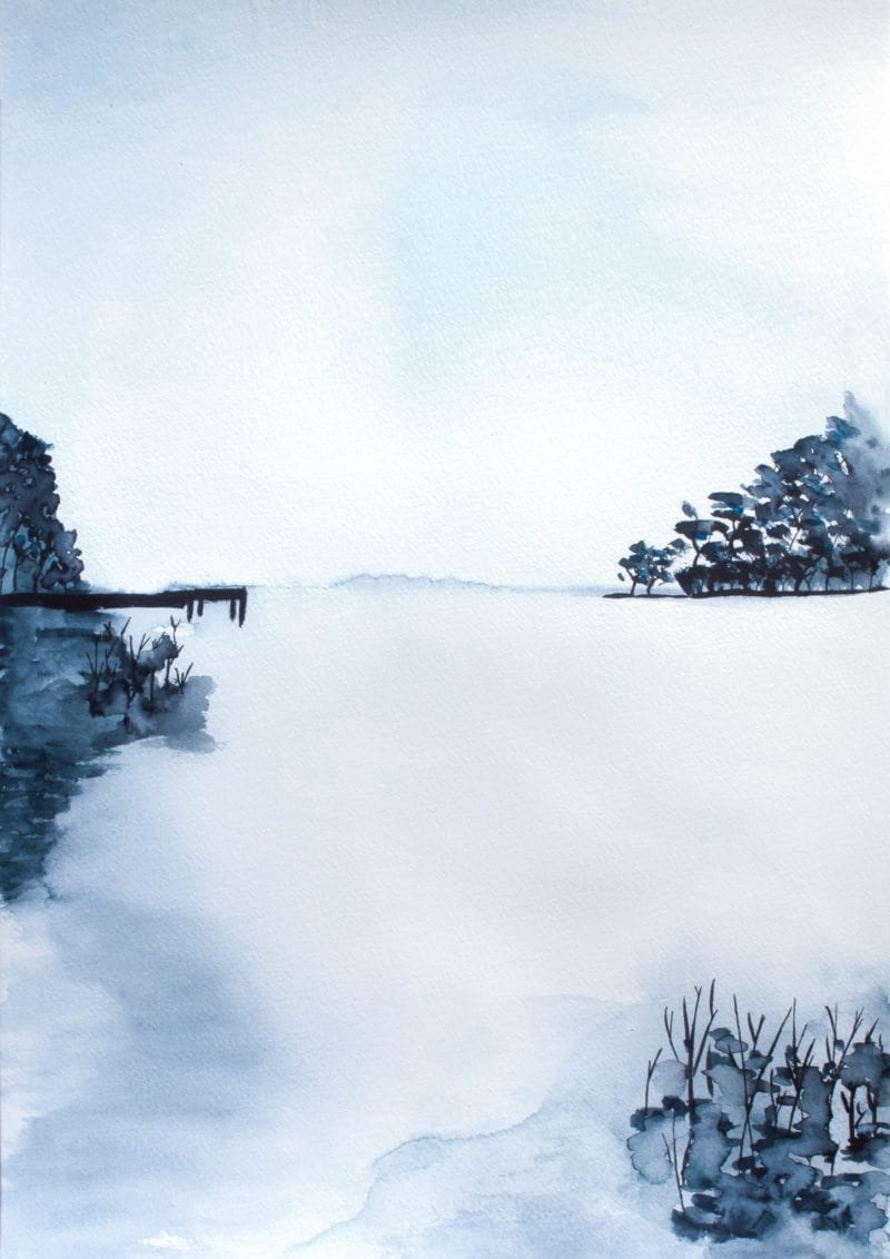 Trine Holbæk - Lakeside