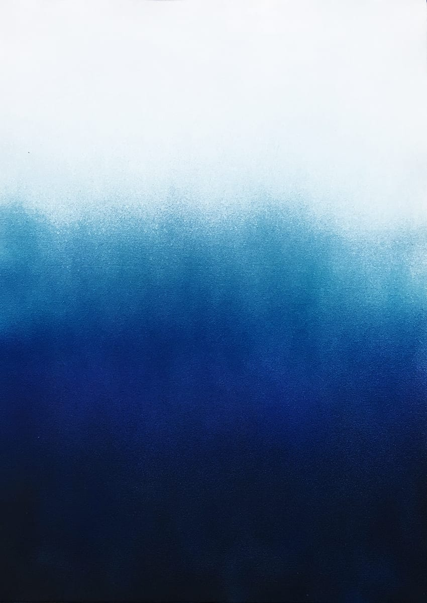 Anne Nowak - Northern Light, Blue