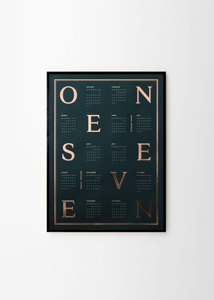 One Seven | via theposterclub.com