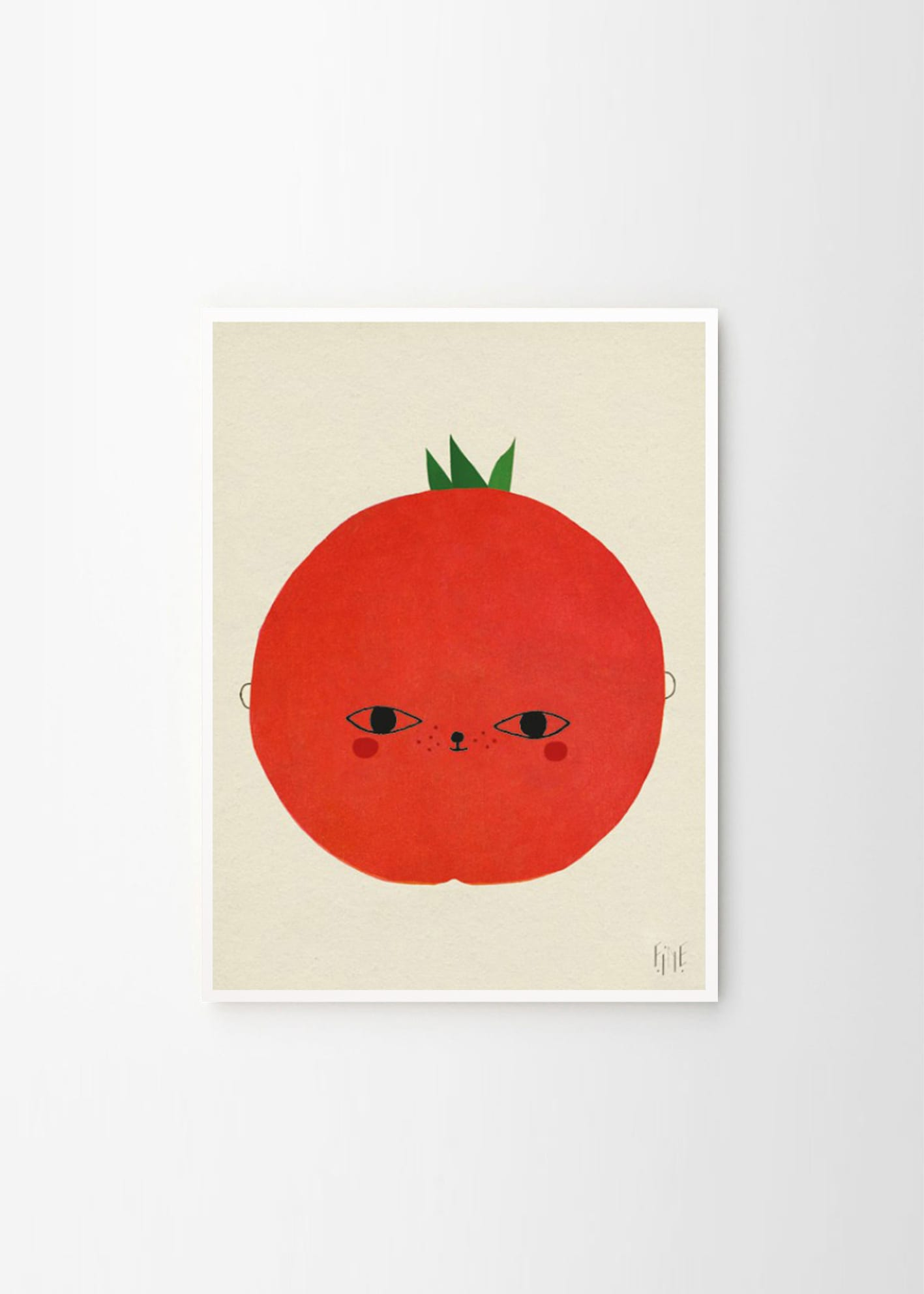 Fine Little Day, Tomato poster - THE POSTER CLUB
