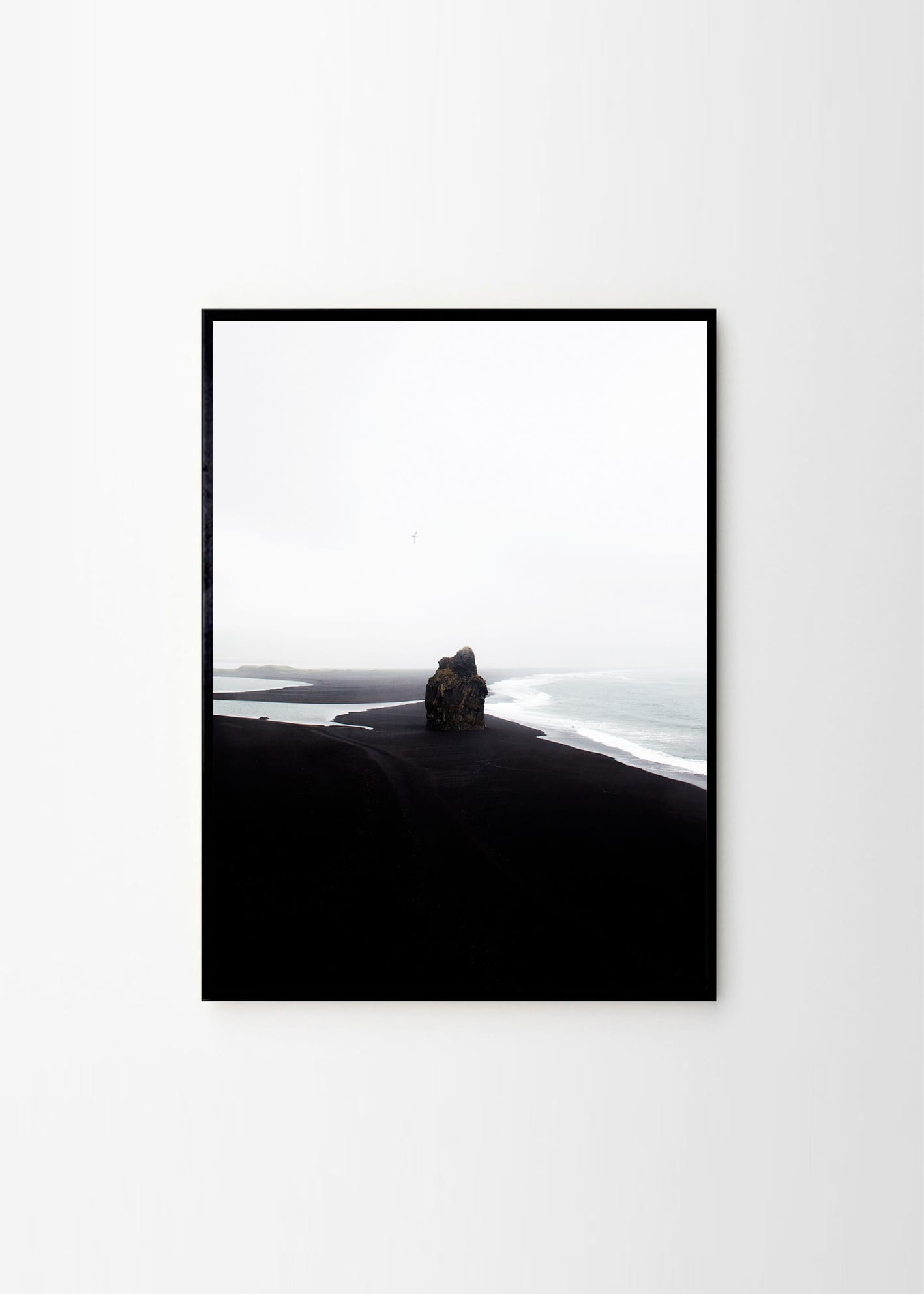 Coco Lapine, Black Beach - THE POSTER CLUB