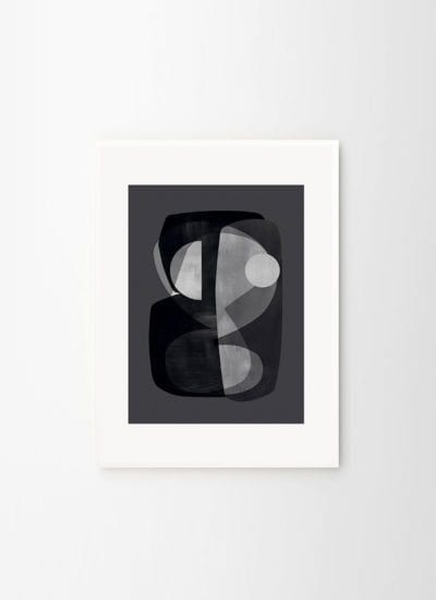 Atelier Cph x THE POSTER CLUB - Abstract construction