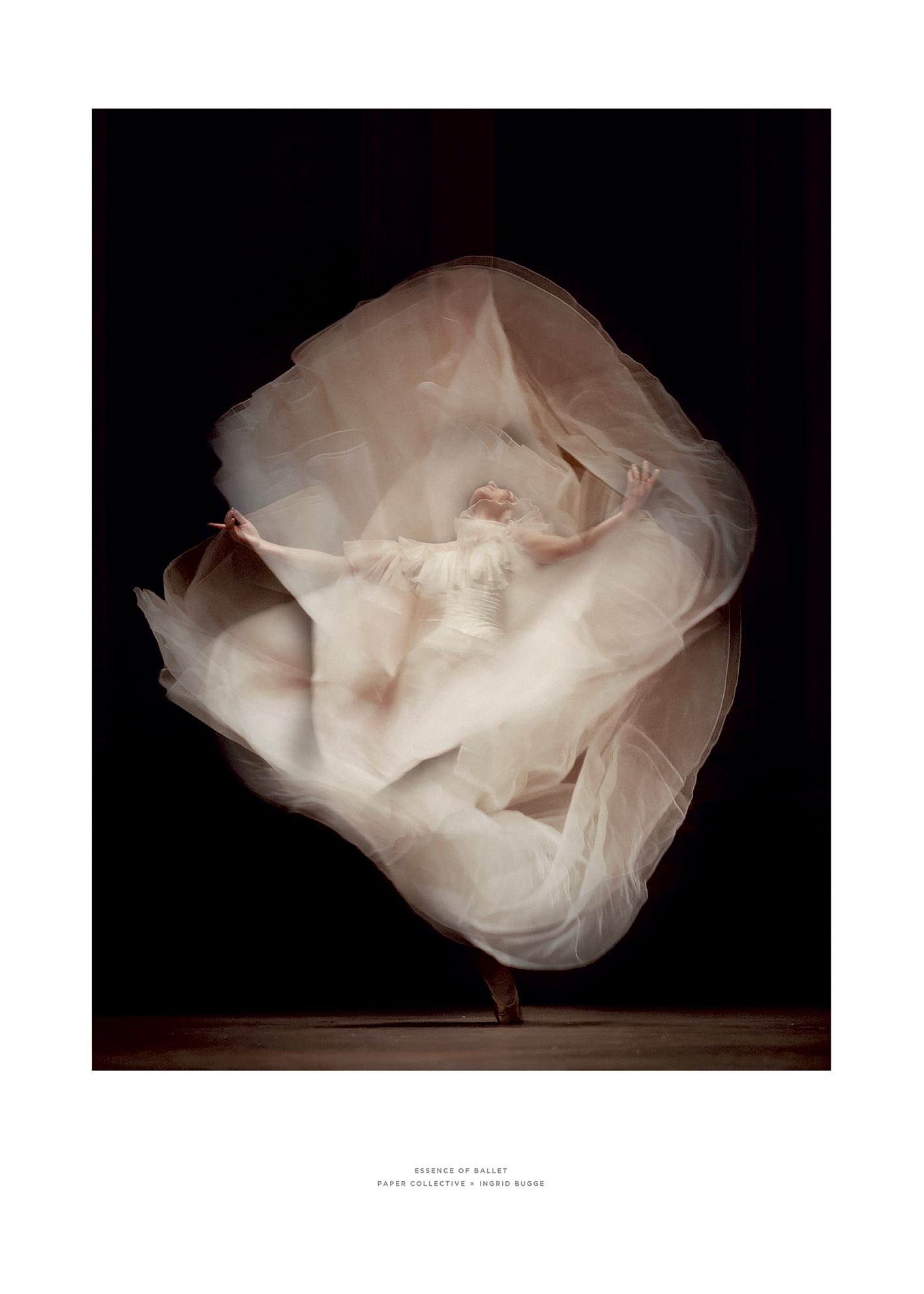 Paper Collective x Ingrid Bugge - Essence of ballet 01