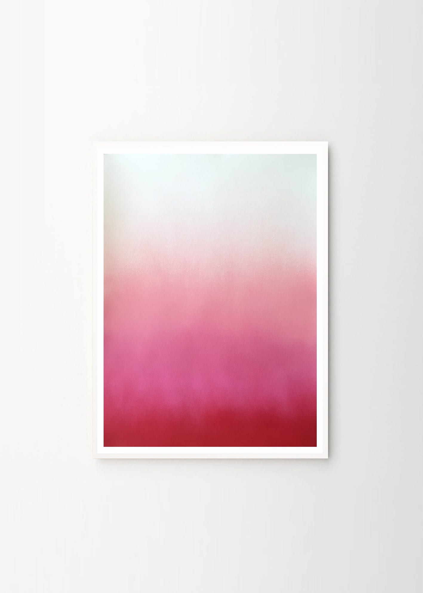 Anne Nowak, Hazy Pink art print - THE POSTER CLUB