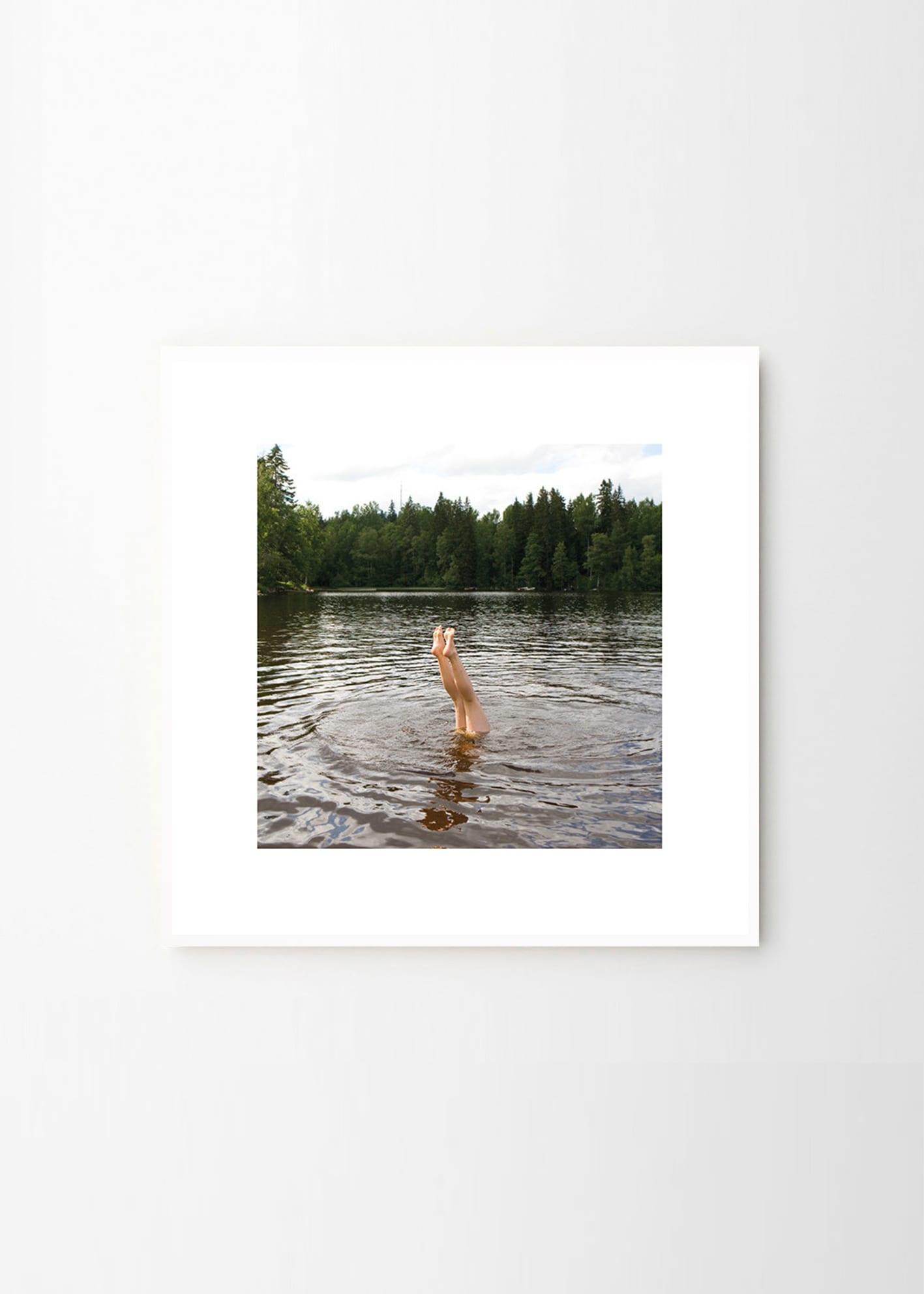 fine little day swim poster the poster club. Black Bedroom Furniture Sets. Home Design Ideas