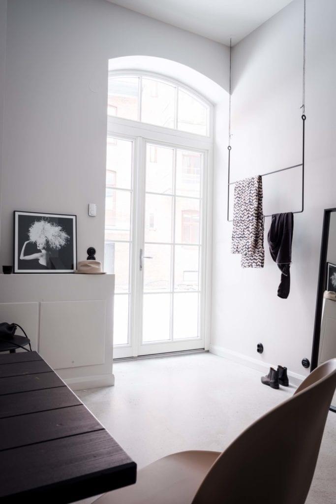 Grey toned apartment | via theposterclub.com