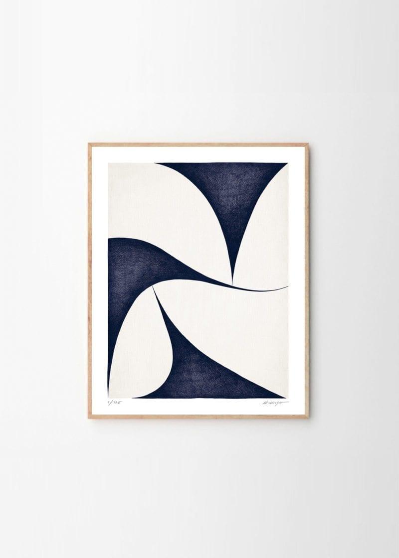 Kristina Krogh - Shapes Blue