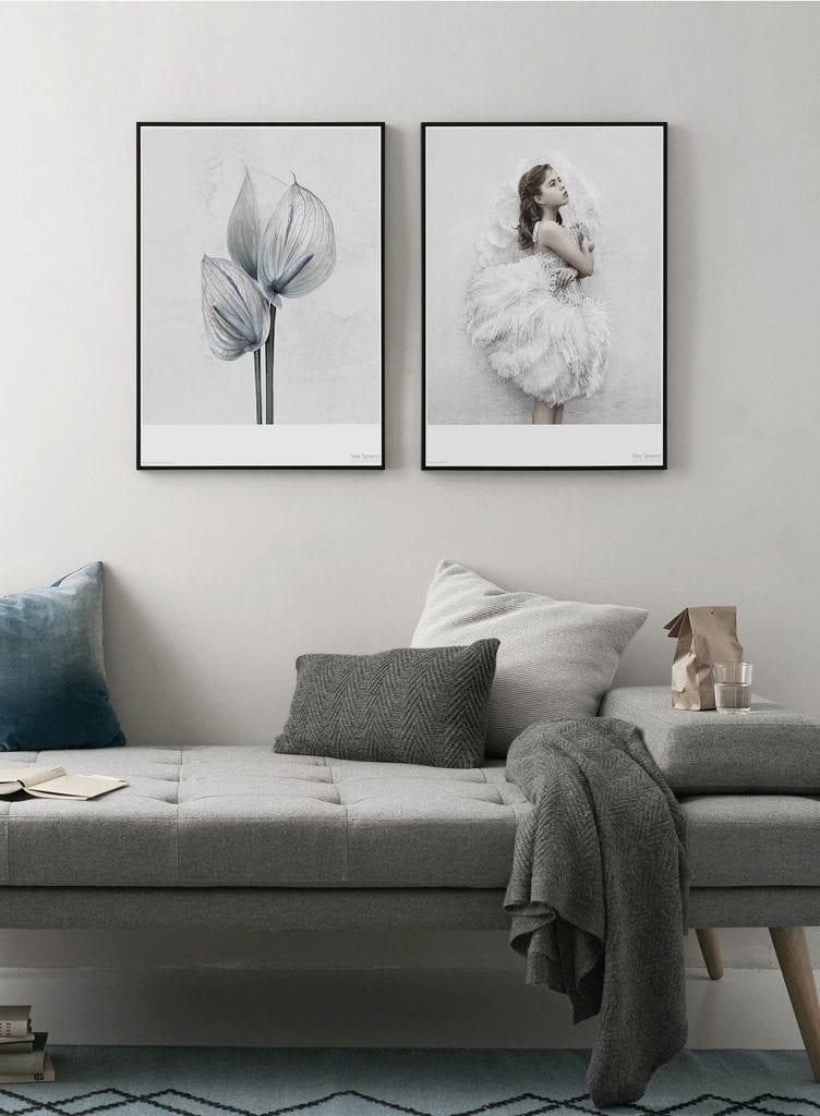 Grey toned space | Via theposterclub.com