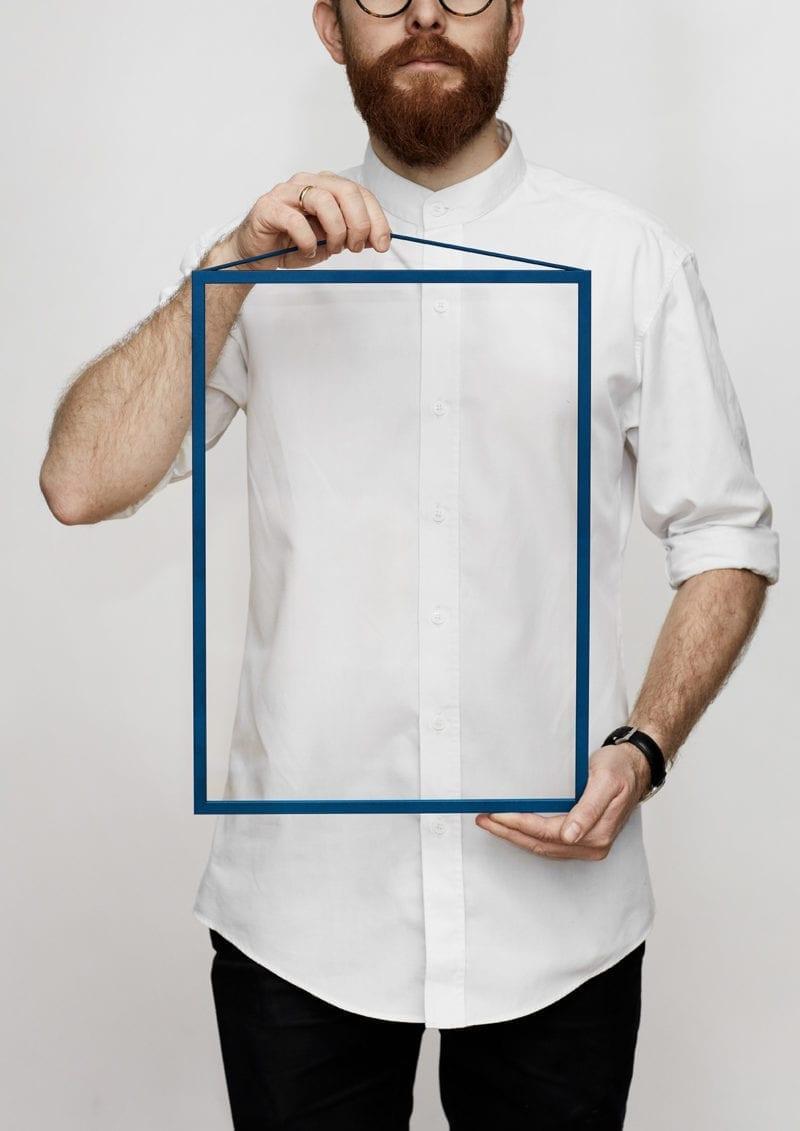 Moebe Frame - Petrol Blue