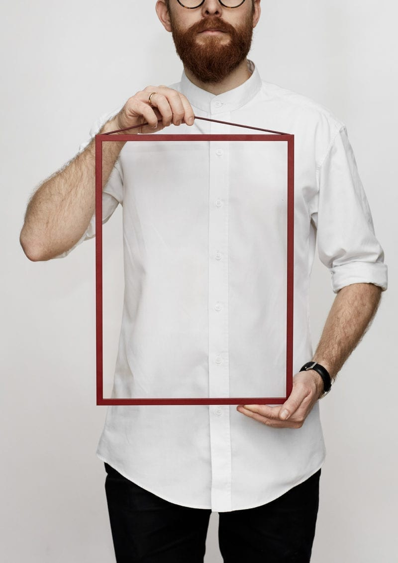 Moebe Frame - Deep Red