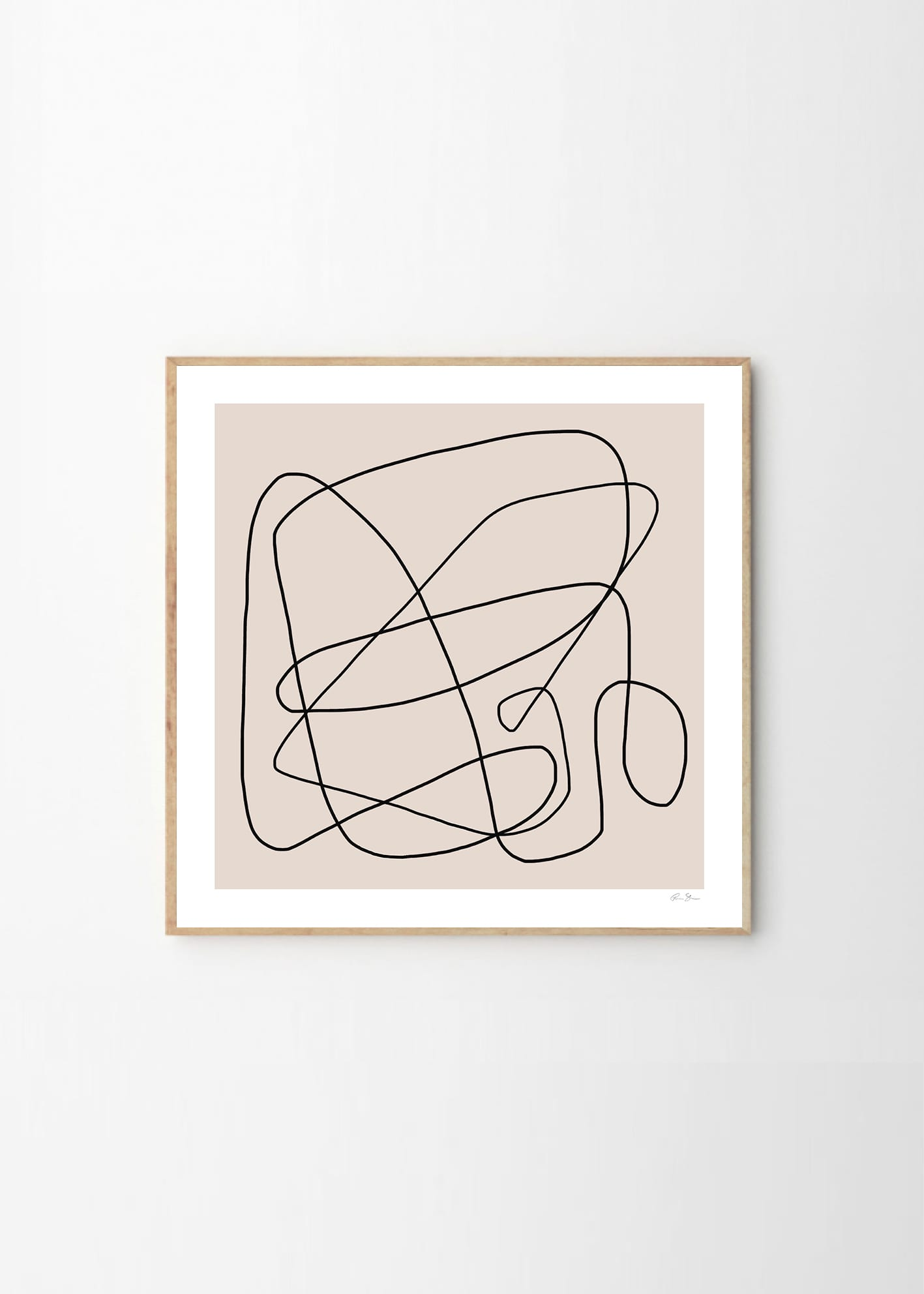 Abstract Art In Lines