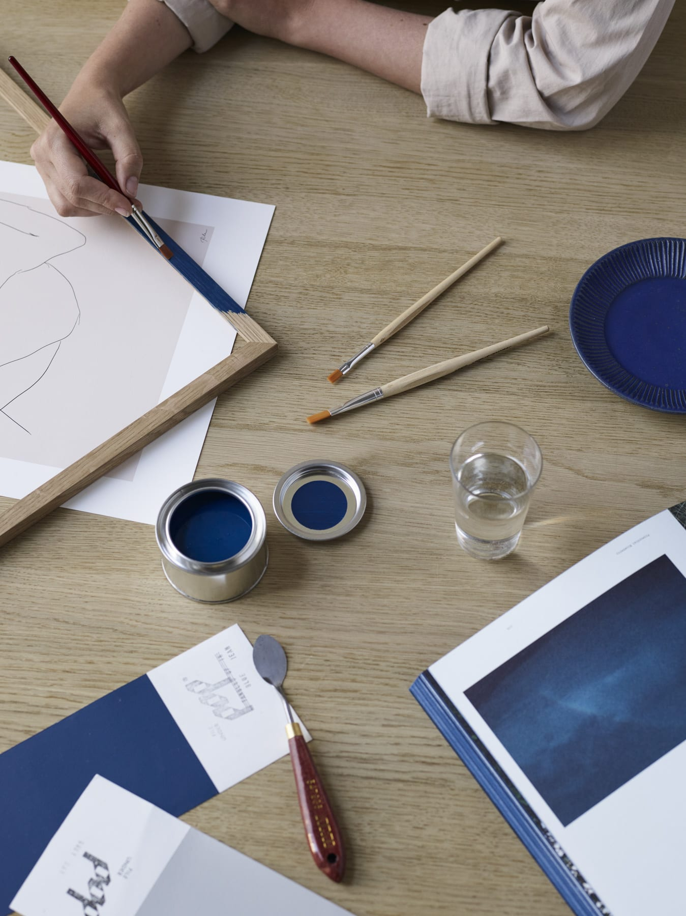 Frame Paint — Blue Jean