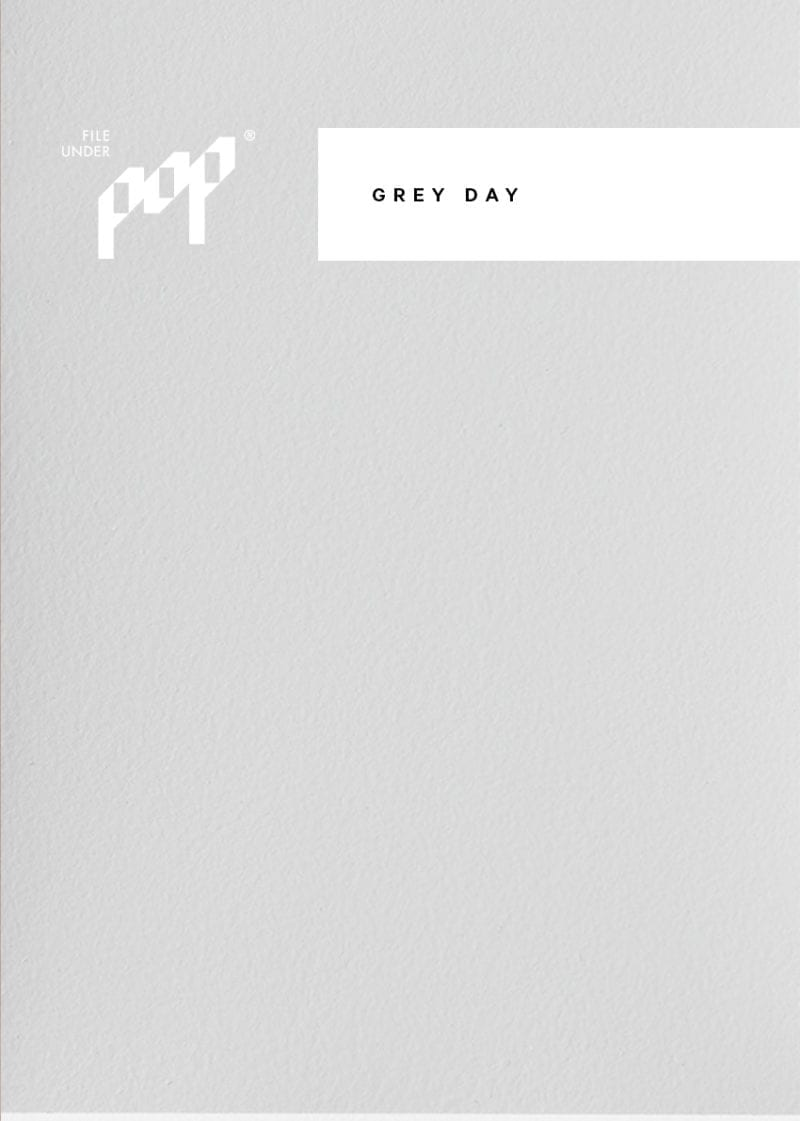 Frame Paint - Grey Day