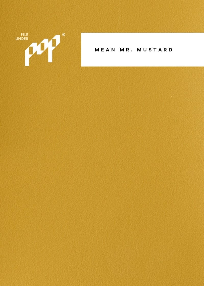 Frame Paint - Mean Mr. Mustard