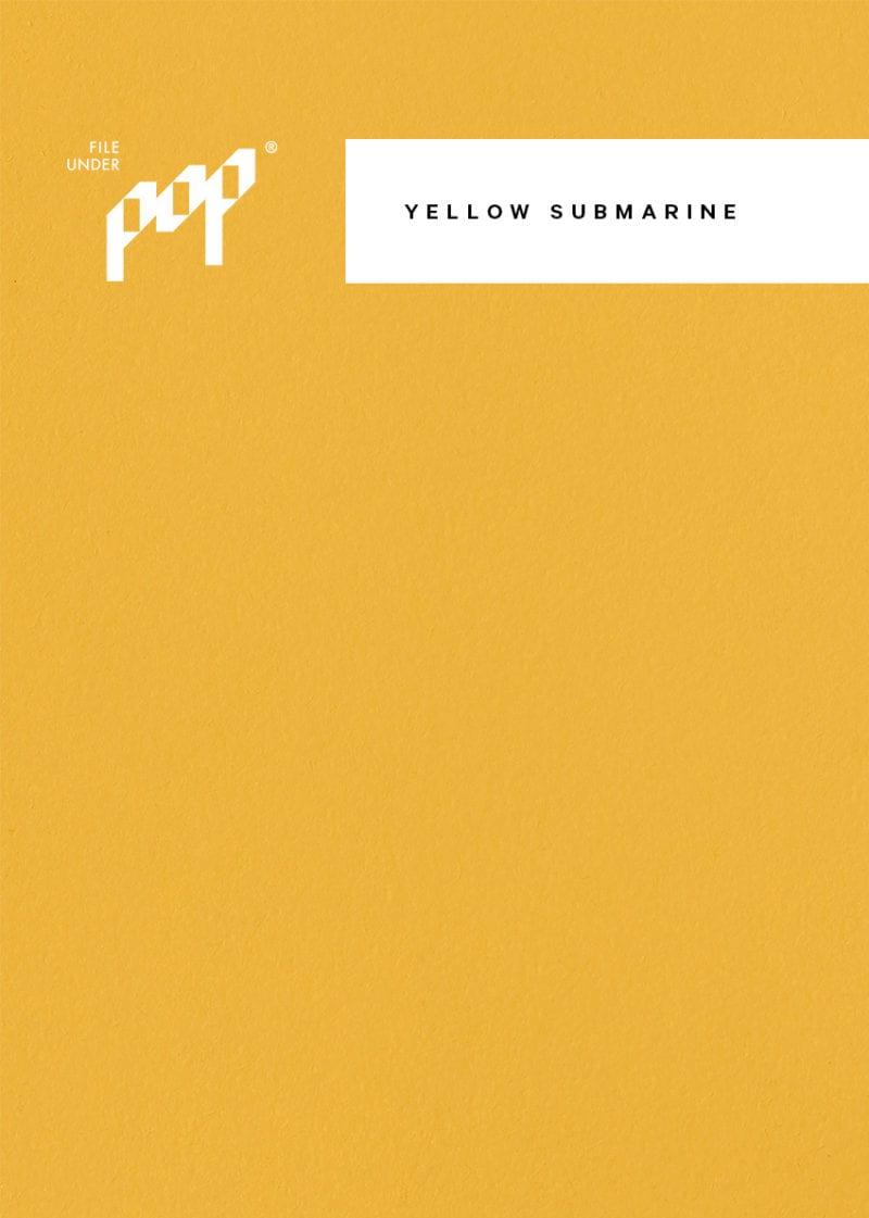 Frame Paint - Yellow Submarine