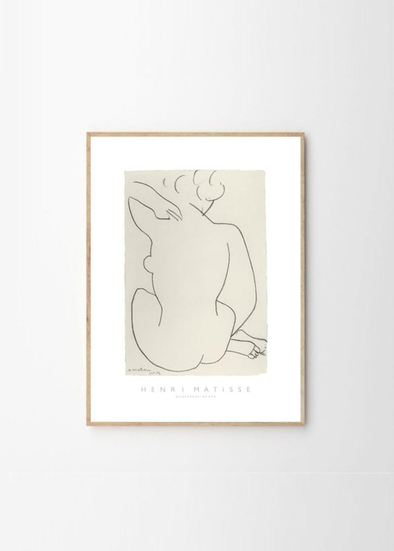 Henri Matisse - Nu Accroupi De Dos