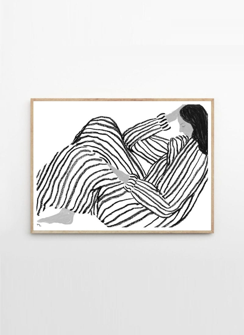 """36/"""" print poster for your glass frame german body abstract vintage art  painting"""