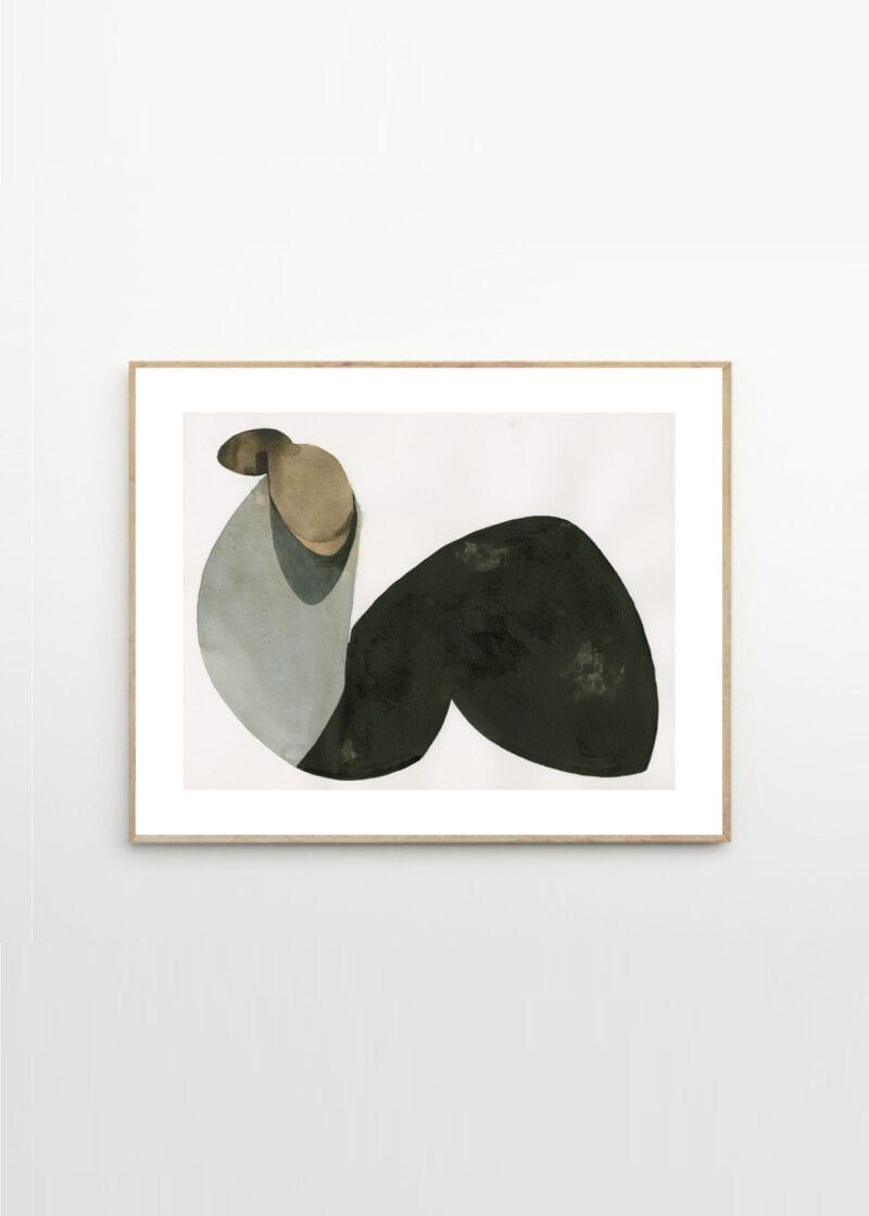 Jorgen Hansson - Sitting Woman XVl