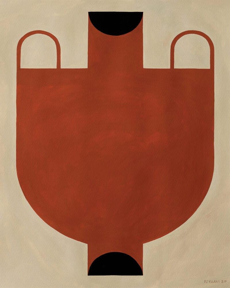 Studio Paradissi - Silhouette Of A Vase 06
