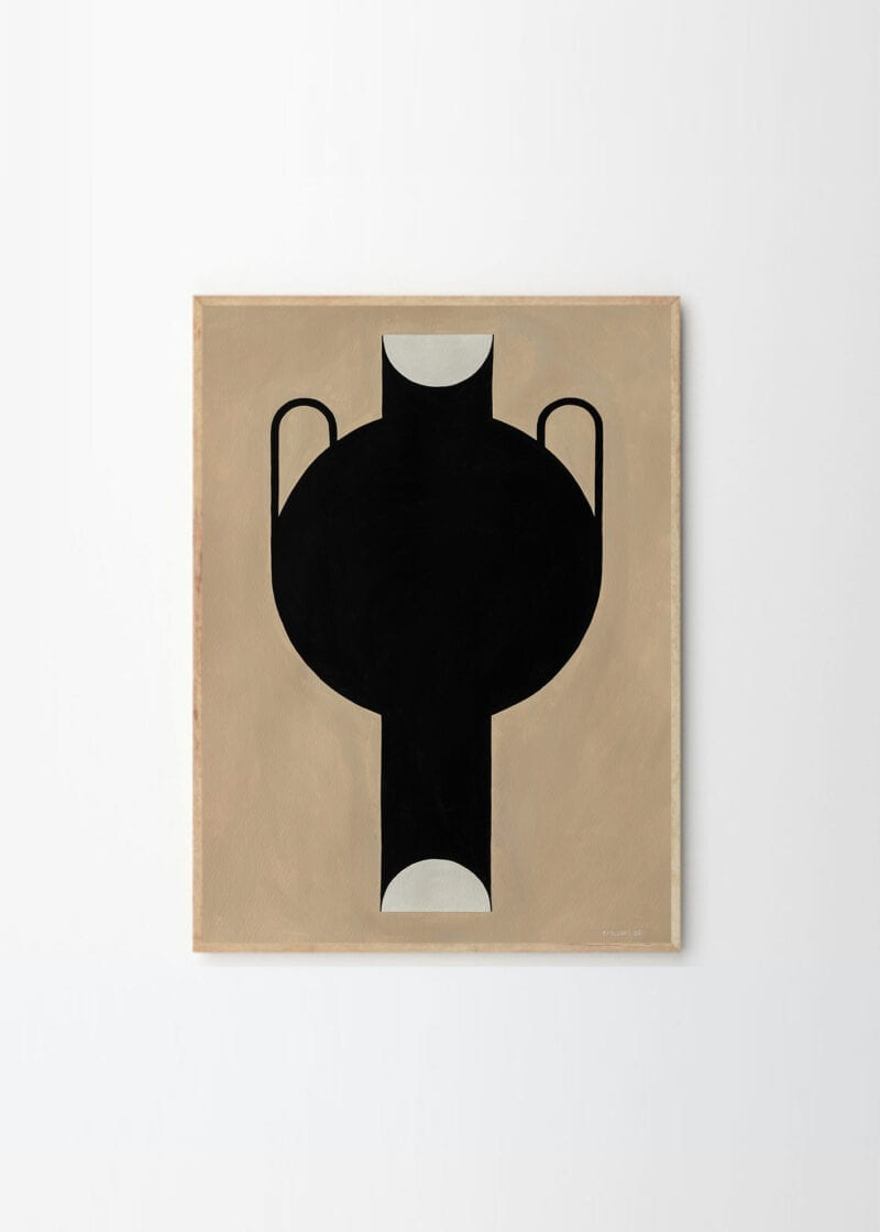 Silhouette Of A Vase 07