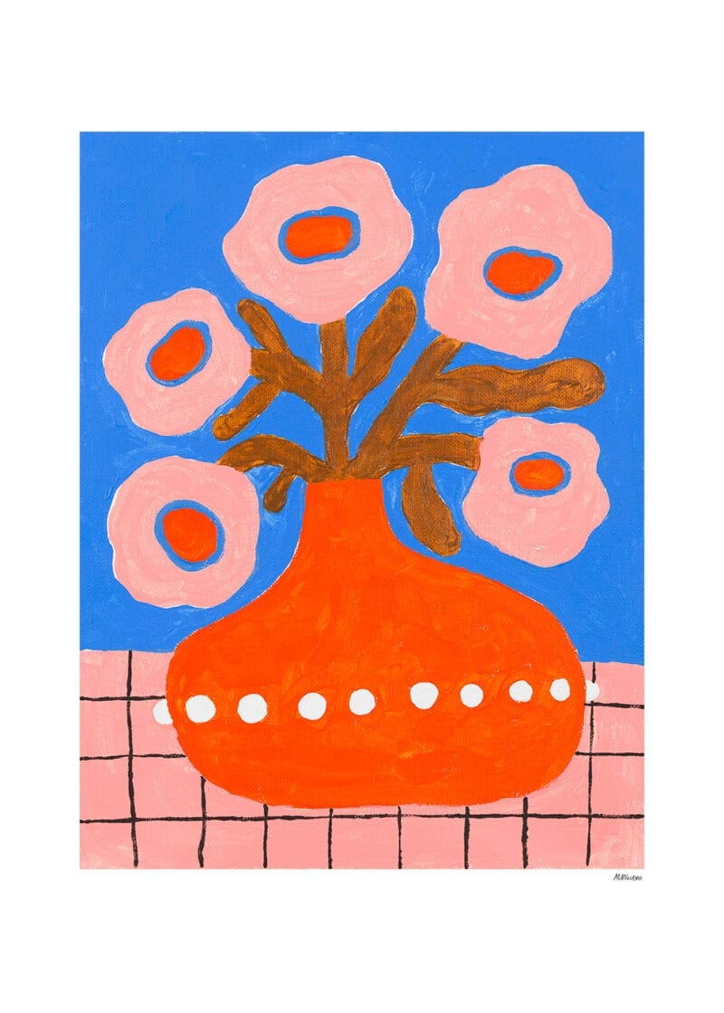 Madelen Möllard - Flowers In a Pearl Vase