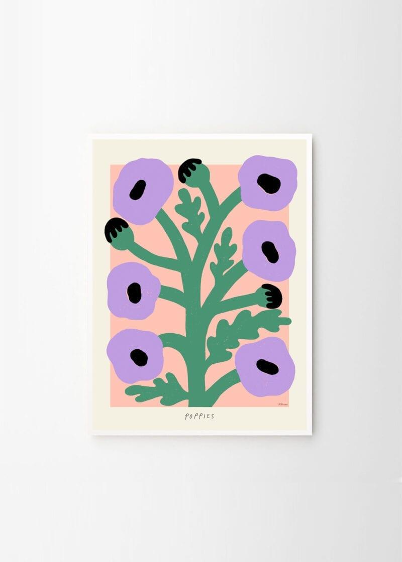 Madelen Möllard - Purple Poppies
