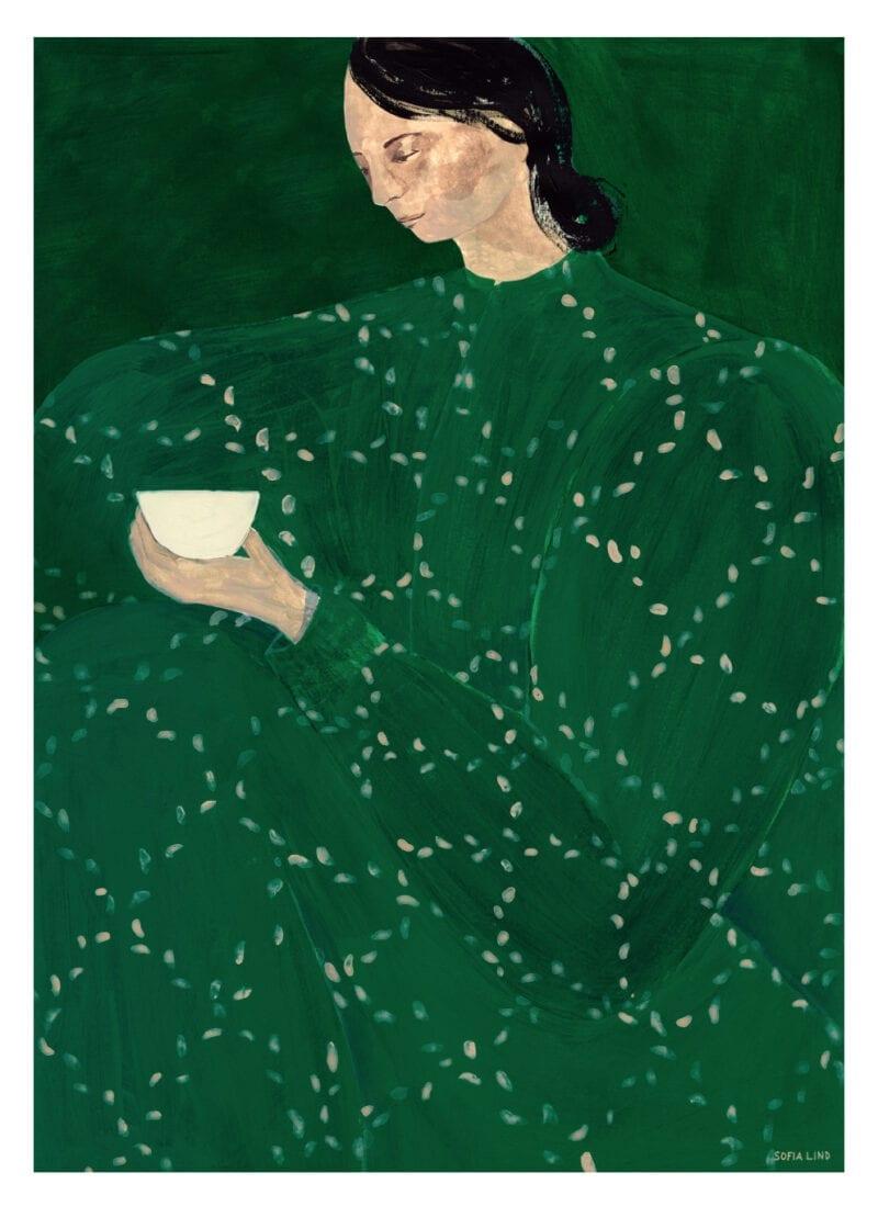 Sofia Lind - Coffee Alone At Place De Clichy