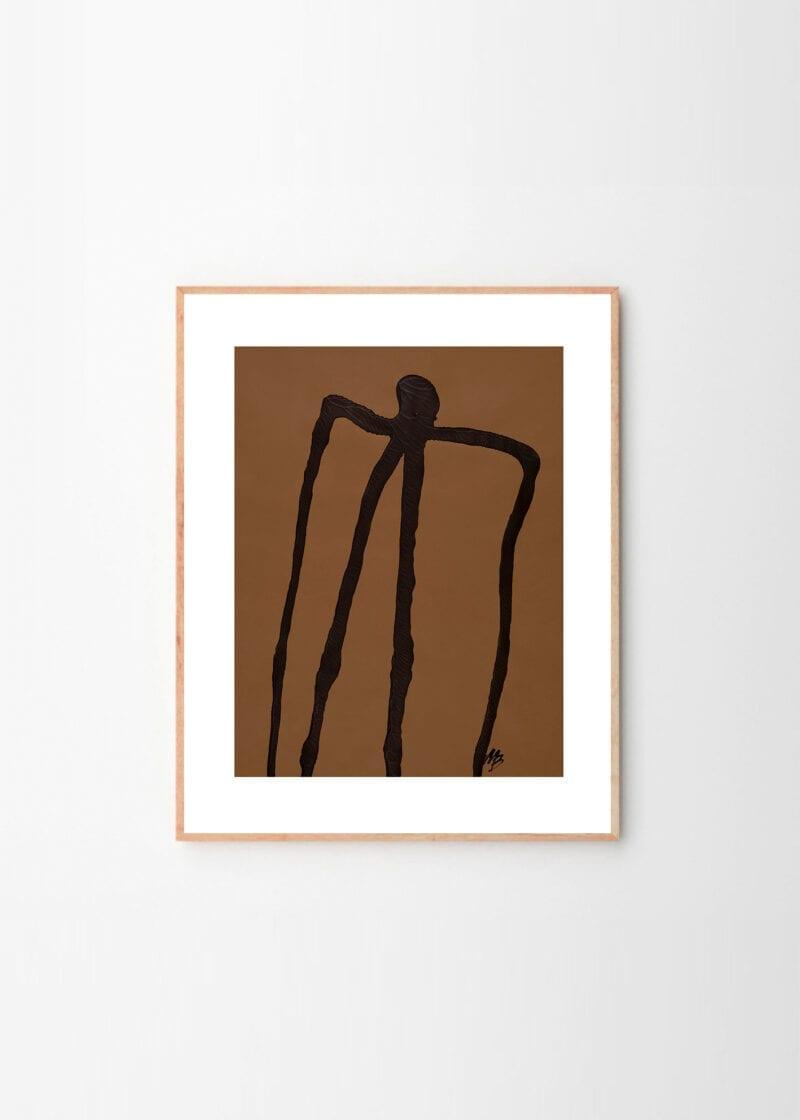 Abstract Man No 01