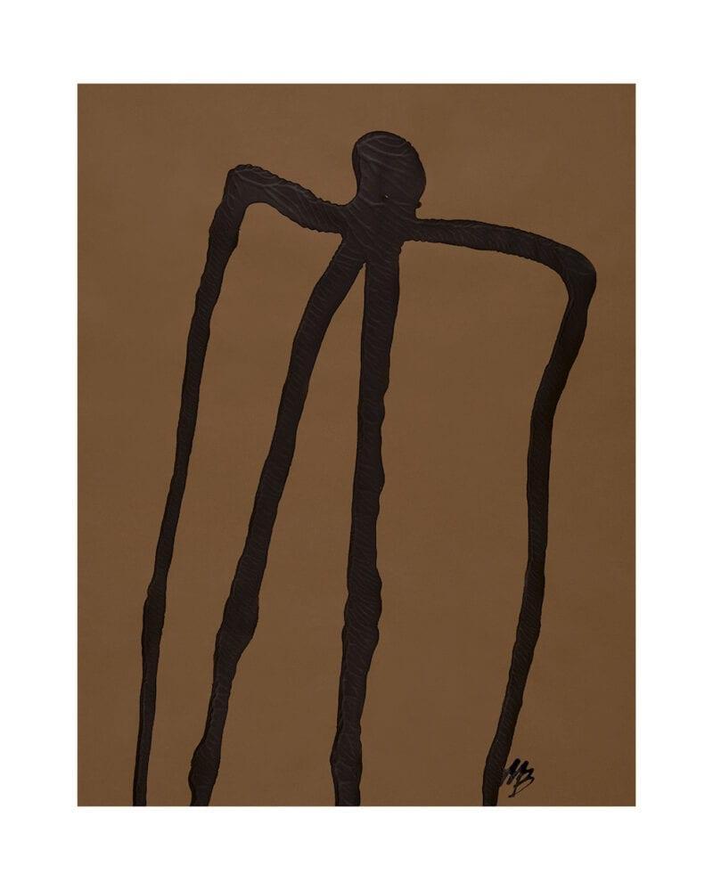 Malene Birger - Abstract Man No 01