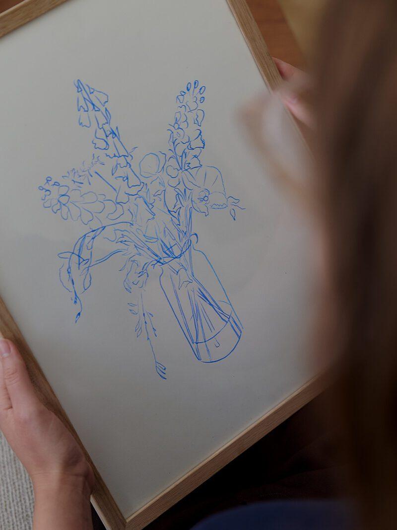 Chloe Purpero Johnson - Flower Study